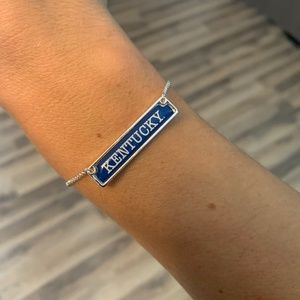 NWT Adjustable University of Kentucky Bracelet